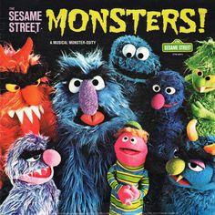Jim Henson's Sesame Street - Monsters! A Musical Monster-osity (1975) [Vinyl]