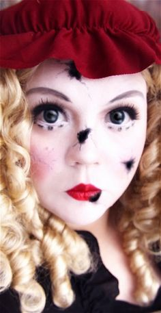 Broken Doll Makeup Kit | Broken doll makeup, Doll makeup and Costumes