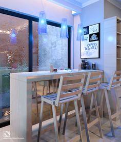 Arsitektur Desain Interior | Minibar Danang's House #Arsitek #DesainInterior #Minibar #Architecchi