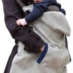 Infantino Hoodie Universal All Season Carrier Cover Gray- baby carrier