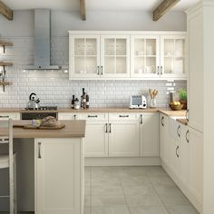Kitchen design decor - Neutral Kitchen Color That Looks Very Friendly and Savvy Part 11 – Kitchen design decor Kitchen Themes, Home Decor Kitchen, Kitchen Interior, New Kitchen, Home Kitchens, Kitchen Ideas, Pastel Kitchen Decor, Kitchen Floor, Cottage Shabby Chic