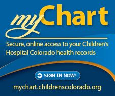 Did you know that parents can access portions of your child's electronic medical records online? With MyChart, you can communicate with your doctor, get test results, request prescription refills and more. Find out what MyChart offers and how to sign up: https://mychart.childrenscolorado.org