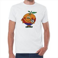 Camiseta Naranjito mundial 82
