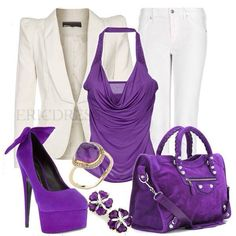 Here is an outfit for you !!??... Snazzy jazzy ...!!!! Ooooooo.