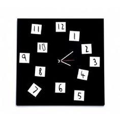 CHANGING CLOCK black