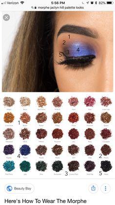 Makeup Eye Looks, Makeup Is Life, Eye Makeup Steps, Eye Makeup Art, Beautiful Eye Makeup, Makeup Goals, Eyeshadow Makeup, Beauty Makeup, Morphe Eyeshadow