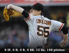 Twitter / MLB: HE'S DONE IT! Tim Lincecum ...