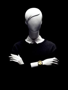 MISS VENICE Collection by More Mannequins #FemaleMannequins #fashion #casual #classicblack #collar