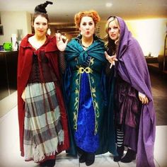 The Sanderson Sisters from Hocus Pocus