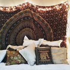 Amazing Room Decor using Mandala Tapestry.