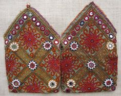 A pair of vintage purses from Katawaz (Ghazni province)