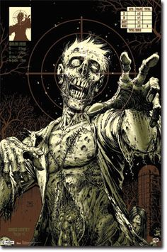 Zombies - Target Poster
