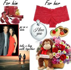 Valentine's Day Gifts For Him, Her 2013