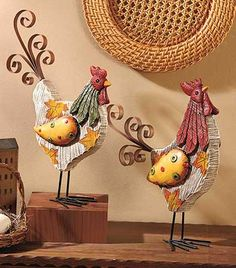 Decorative Harvest Figures