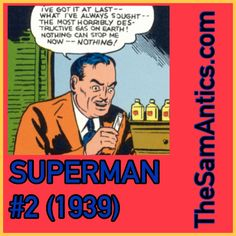Superman #2 (1939). He must be a killer in bed.