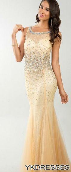 prom dresses 2014 elegant sequins !   trourok idees   Pinterest ...