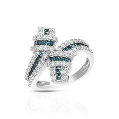Krementz 14k Gold 1 1/10ct TDW Diamond Ring