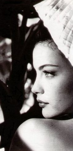 Liv Tyler- I love her soft voice as well as that beautiful face ~