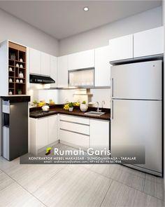 Kontraktor Dapur Kitchen Set Interior Mebel Lemari Gantung Makar Gowa Sungguminasa Takalar Jeneponto Multipleks Hpl