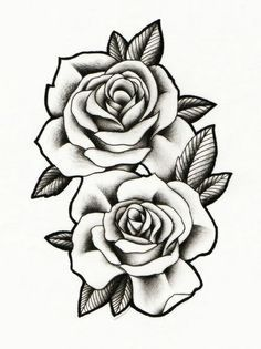 Roses to Print coloring pages: tatoo, realistic, fabric painting - realistic rose designs - Rose Drawing Tattoo, Pink Drawing, Tattoo Sketches, Tattoo Drawings, Body Art Tattoos, Sleeve Tattoos, Tatoos, Rose Drawings, Rose Tattoo Cover Up
