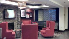 Lobby at Hampton Inn