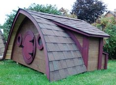 """""""Hobbit hole"""" sheds, play houses, chicken coops, and cottages"""