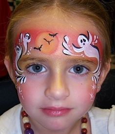 Halloween facepainting. Find face paints for Halloween at Hobbycraft http://www.hobbycraft.co.uk/celebration/halloween #facepainting #halloween