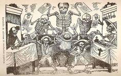 Día de Los Muertos : Day of the Dead — Photography, Art & Writing from the Classroom Skeleton Anatomy, Skeleton Art, Mexican Artists, Mexican Folk Art, Catrina Tattoo, Western Caribbean, Mesoamerican, Antique Photos, Art Google