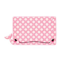 @LVIDAESBELLA <P>Have a whale of a time with this tablet case. This pink polka dot whale smiles while it protects your iPad. </P><UL><LI>Fits iPad Mini <LI>Silicone </LI></UL>
