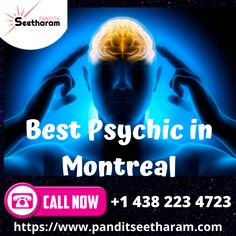 Consult the top psychic in Montreal for a solution to every life problem. Pandith Seetharam is the top famous and the Best Psychic Reader in Montreal.