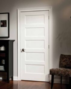 5 panel flat shaker style primed 6 39 8 80 darpet for 6 horizontal panel doors
