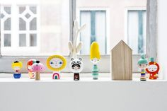 These little beauties have just landed with us today! A set of 8 hand painted little wooden dolls from @suzyultman and @psikhouvanjou Mr Sun and Friends are an absolute delight - available to purchase online now. Black and White SketchInc nesting dolls back in stock as well as new XL set plus new Fleur and friends Nesting dolls in stock now.   image @psikhouvanjou . . . #ThisModernLife #KidsDecor #KidsRoomInspo #NurseryInspo #NurseryDecor #KidsInspo #Shelfie #WoodenToys #Sunshine #Sun…