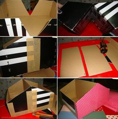 reciclar cajas de zapatos 2
