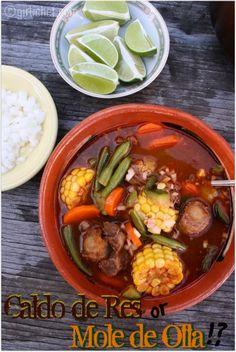 girlichef: Caldo de Res ...or is it Mole de Olla!? {Red Chile Beef Soup w/ Vegetables}