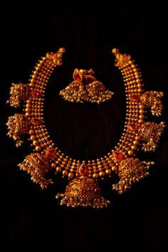 Antique Temple Jewellery Designs