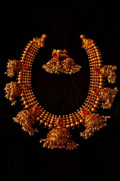 Antique Temple Jewellery Designs