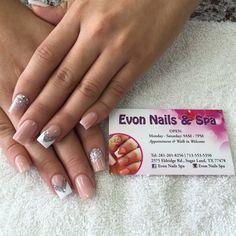 Evon Nails & Spa by Nailsbyevon via @nailartgallery #nailartgallery #nailart #nails #acrylic