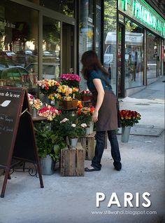paris flower shop by wahdi_usj, via Flickr