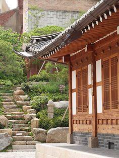 한옥 마을,한국 여행,모바일가이드