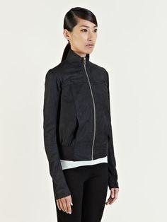Rick Owens Women's Leather Bomber Jacket