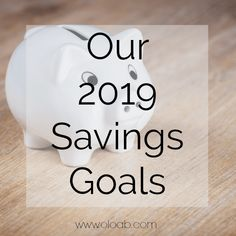 Over the course of a year we make sure to add sinking funds to our montly budget. Here are our 2019 savings goals that we're setting money aside for. Sinking Funds, Life On A Budget, Saving Money, Budgeting, Goals, Save My Money, Frugal