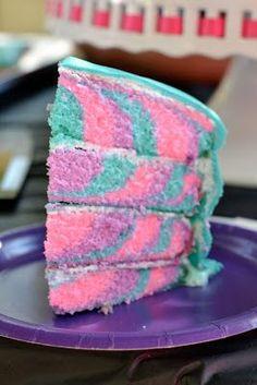 Tie Dye Cake