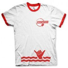 CAMISETA BAYWATCH STRIPE TEE XXL Precio de Ocasión, Camiseta de calidad de la licencia BAYWATCH Fabricante: HYBRIS