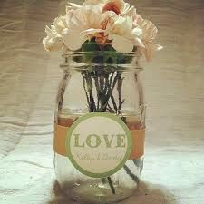 country centerpieces for a wedding - Google Search