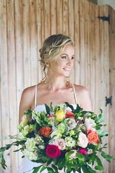 Inspiring Copper & Brights Wedding | SouthBound Bride | http://www.southboundbride.com/inspiring-copper-brights-wedding-at-the-orchards-by-summertown-pictures | Credit: Summertown Pictures
