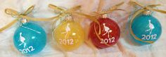 Sparkly {Pregnancy} :Gift: Ornaments
