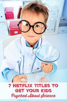 Do you homeschool? Do you like to focus on educational shows with your kids? These 7 titles currently streaming on Netflix will get your kids psyched about science. -Watch Free Latest Movies Online on Science For Toddlers, Science Experiments Kids, Science Projects, Toddler Preschool, Toddler Activities, Science Fun, Science Ideas, Summer Science, Stem Projects
