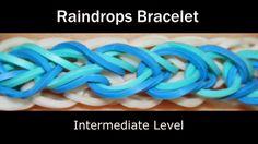 Rainbow Loom Patterns: Raindrop Rainbow Loom Pattern