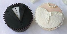 Muffin sposo e sposa - matrimonio