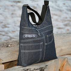 black denim handbag / goods retailer ReTriCo | Fler.cz